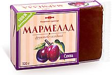 «Озёрский сувенир», мармелад «Слива»,100% натуральный продукт, 320г