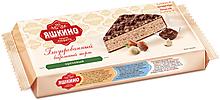 «Яшкино», торт вафельный с орехом, глазированный, 250г