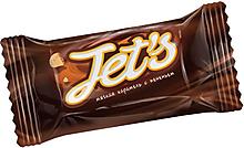Конфета «Jet`s» с печеньем (коробка 1кг)