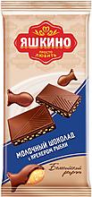 «Яшкино», шоколад молочный с крекером, 90г