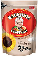 «Бабкины семечки», семечки жареные, солёные, 300г