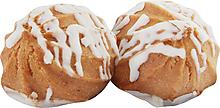 Печенье «Заварные пышечки» в белой глазури, заварное (коробка 2кг)