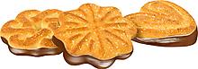 Печенье «Чайное», сахарное с глазированным дном (коробка 4кг)