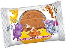 Бисквит с варёной сгущенкой, 30г