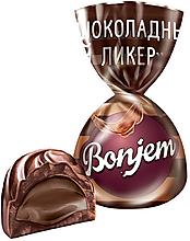 «Bonjem», конфета «Шоколадный ликер» (коробка 1кг)