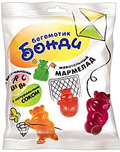 «Бегемотик Бонди», мармелад жевательный с соком ягод и фруктов, 30г