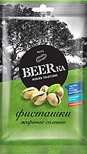 «Beerka», фисташки жареные, солёные, 80г