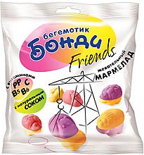 «Бегемотик Бонди», мармелад воздушный с соком ягод и фруктов, 100г