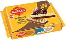 «Яшкино», вафельный сэндвич с шоколадной начинкой, 180г