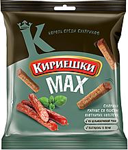 «Кириешки», сухарики со вкусом охотничьих колбасок, 40г