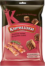 Сухарики со вкусом бекона «Кириешки», 100г