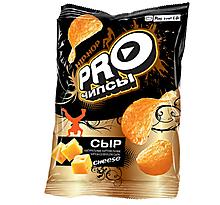 «PRO-Чипсы», чипсы со вкусом сыра, произведены из свежего картофеля, 150г