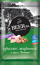 «Beerka», арахис жареный со вкусом чеснока, 90г