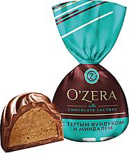 «OZera», конфеты с фундуком и миндалем (упаковка 1кг)