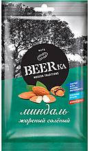 «Beerka», миндаль жареный, солёный, 90г