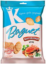 «Кириешки Baguet», сухарики со вкусом краба, 50г