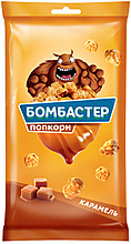 «Бомбастер», попкорн карамельный, 250г