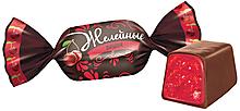 Конфета «Вишня», желейная (упаковка 1кг)