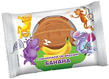 Бисквит со вкусом банана, 30г