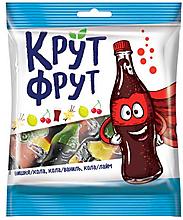 «КрутФрут», мармелад жевательный в форме забавных бутылочек, 70г