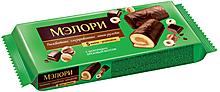 «Мэлори», мини-рулет бисквитный шоколадно-ореховый, 200г