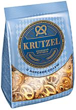 «Krutzel», крендельки «Бретцель» с солью, 250г