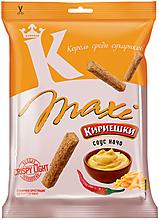 «Кириешки Maxi», сухарики со вкусом соуса начо, 60г