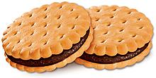 Печенье–сэндвич с шоколадным вкусом (коробка 3,4кг)