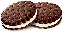 Печенье–сэндвич с шоколадно-сливочным вкусом (коробка 3,4кг)