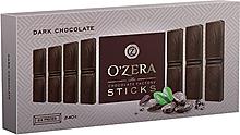 «OZera», шоколад горький Dark, в форме стиков, 240г