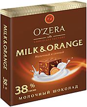«OZera», шоколад молочный Milk & Orange, 90г