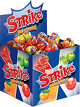Карамель на палочке «Strike», ассорти, 11г