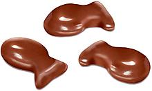 Драже «рыбка» в молочно-шоколадной глазури (коробка 1кг)