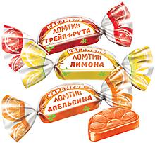 Карамель «Ломтики со вкусами апельсина, лимона и грейпфрута» (упаковка 1кг)
