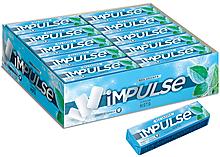 «Impulse», жевательная резинка со вкусом «Мята», без сахара, 14г