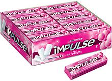 «Impulse», жевательная резинка со вкусом Multi-Frutti, без сахара, 14г