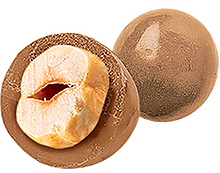 Драже фундук в карамельном шоколаде (коробка 1,5кг)