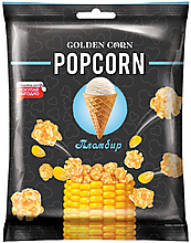 «Golden Corn», попкорн со вкусом пломбира, 100г