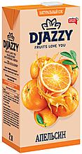 «Djazzy», сок апельсиновый, с мякотью
