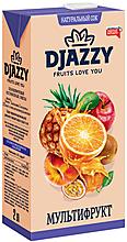 «Djazzy», сок мультифруктовый, с мякотью, 2л