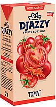 «Djazzy», сок  томатный, с мякотью, 2л