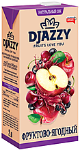 «Djazzy», сок фруктово-ягодный, 2л
