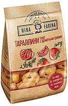 «Nina Farina», тараллини с томатом и ароматными травами, 180г