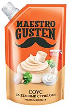 «Maestro Gusten», соус «Сметанный с грибами», 196г