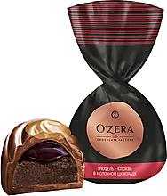 «OZera», конфеты трюфель - клюква в молочном шоколаде (упаковка 1кг)