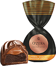«OZera», конфета трюфель - апельсин в молочном шоколаде (упаковка 1кг)