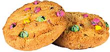 Печенье сдобное с добавлением цветного драже (коробка 4,5кг)