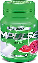 «Impulse», жевательная резинка со вкусом арбуз, 56г