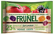 «Frunel», мармелад со вкусом клубники, чёрной и красной смородины, манго, винограда, 40г
