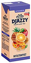 «Djazzy», сок мультифруктовый, с мякотью, 200мл
